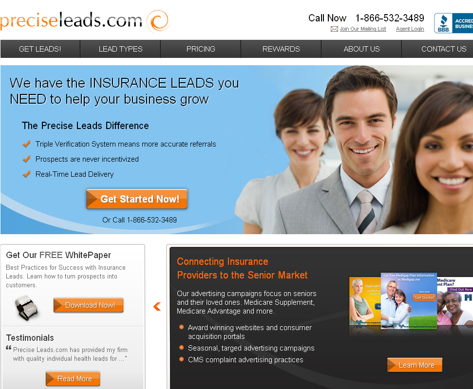 Precise Leads