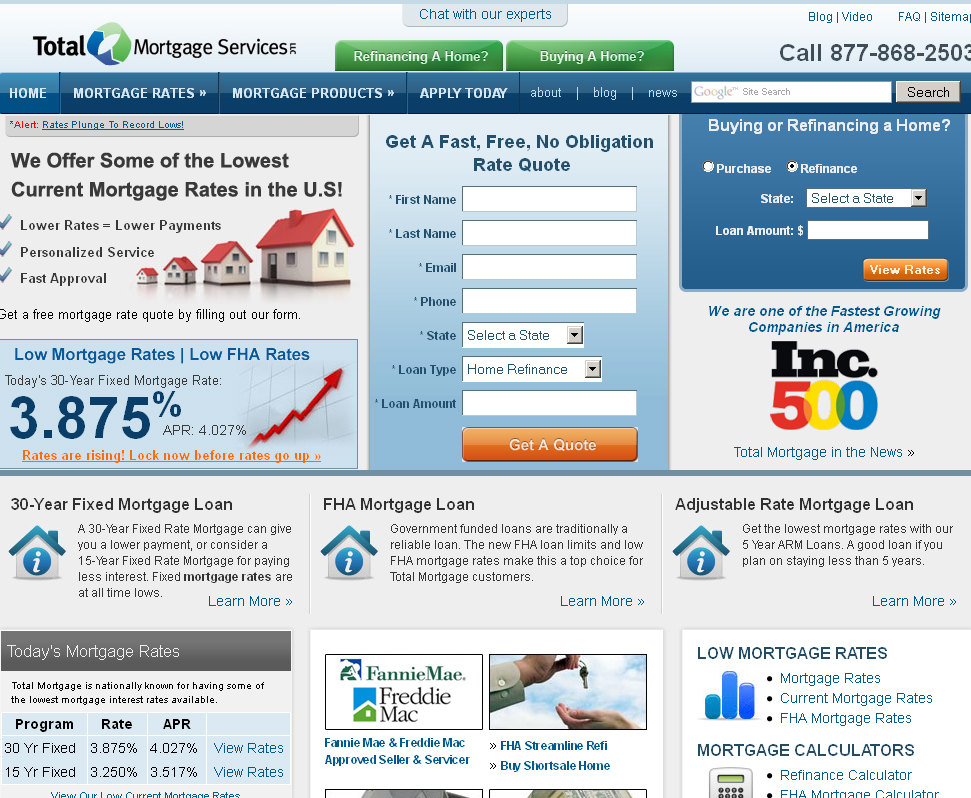 Total Mortgage Services